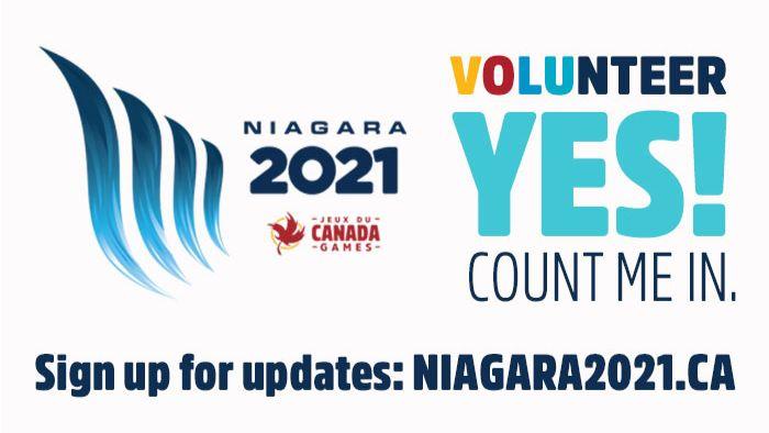 Niagara 2021 Volunteer YES! Count Me In