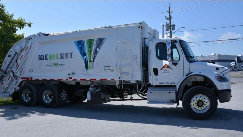 Niagara Region garbage truck