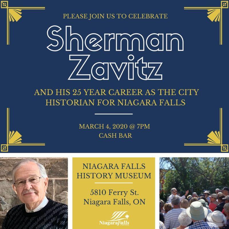 Sherman Zavitz event poster