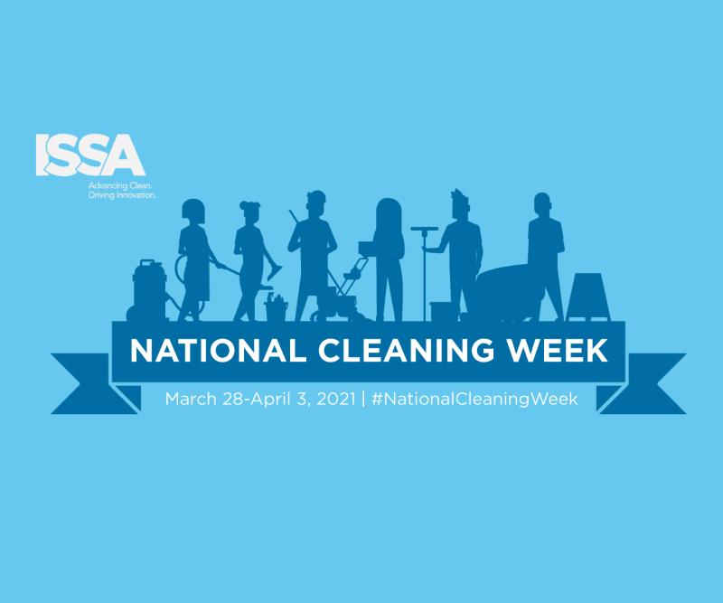 National Cleaning Week logo
