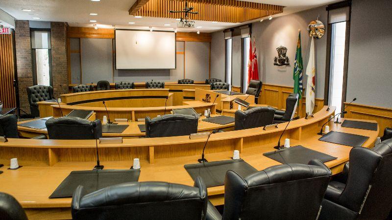 Niagara Falls Council Chambers