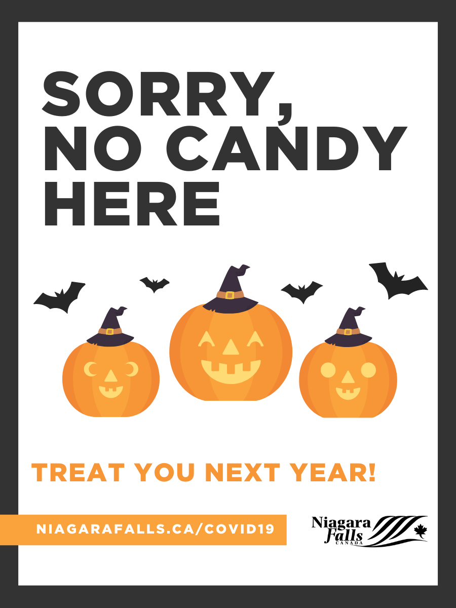 Sorry, no candy here - treat you next year!