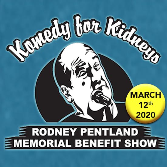 Komedy for Kidneys logo