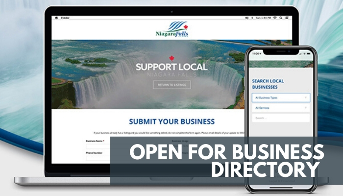 Screenshot of the Open for Business Directory