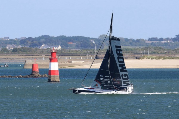 DMG Mori goes upwind in the Lorient channel