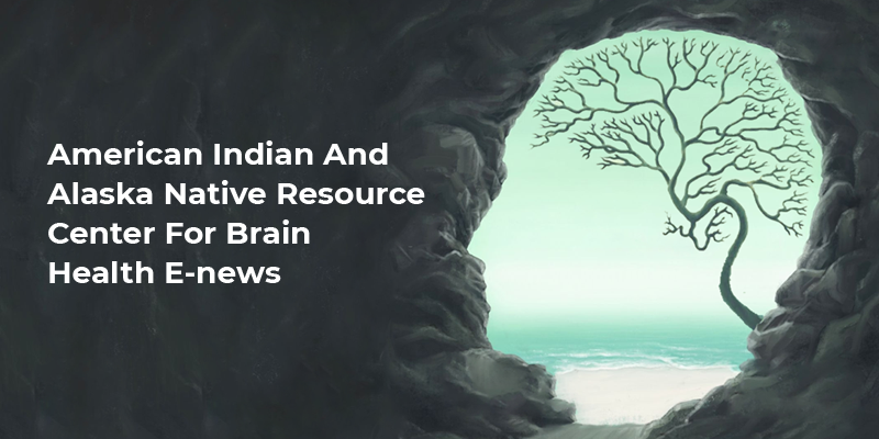 Profile with water in the back and brain tree in scene