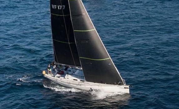 J/122 Joss sailing offshore