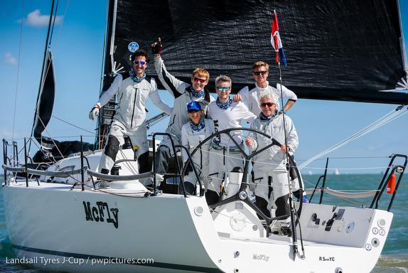 J/111 McFly sailing J-Cup UK