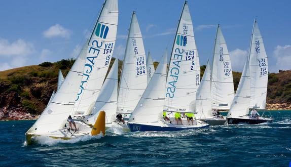 IC24s sailing St Thomas, USVI