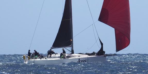J/122 sailing off Australia