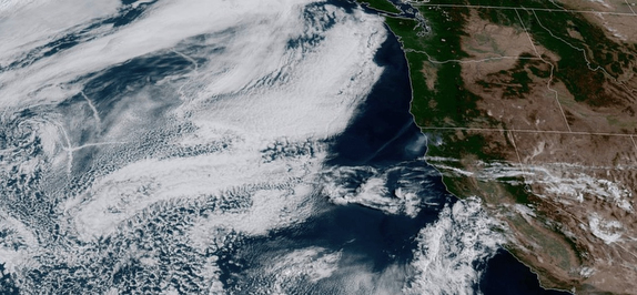 NOAA satellite photo