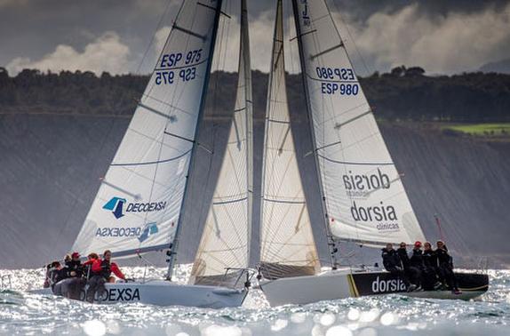J/80s sailing Women's Cup