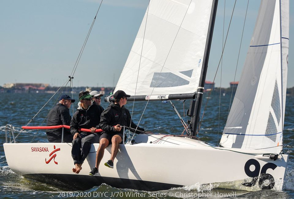 J/70 Savasana wins Davis Island Winter Series