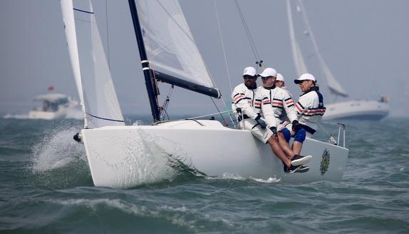 J/70s sailing J/Cup U.K.