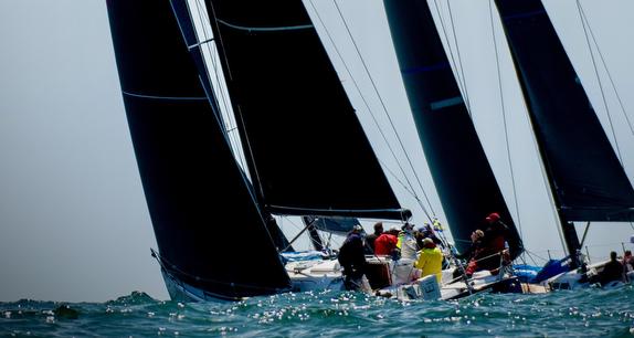 J/145 sailing Newport to Ensenada Race