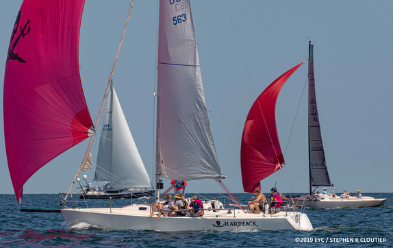 J/105 sailing Edgartown Regatta