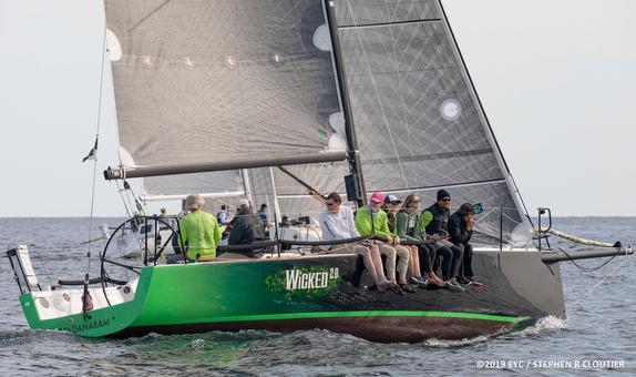 J/111 sailing Edgartown Regatta