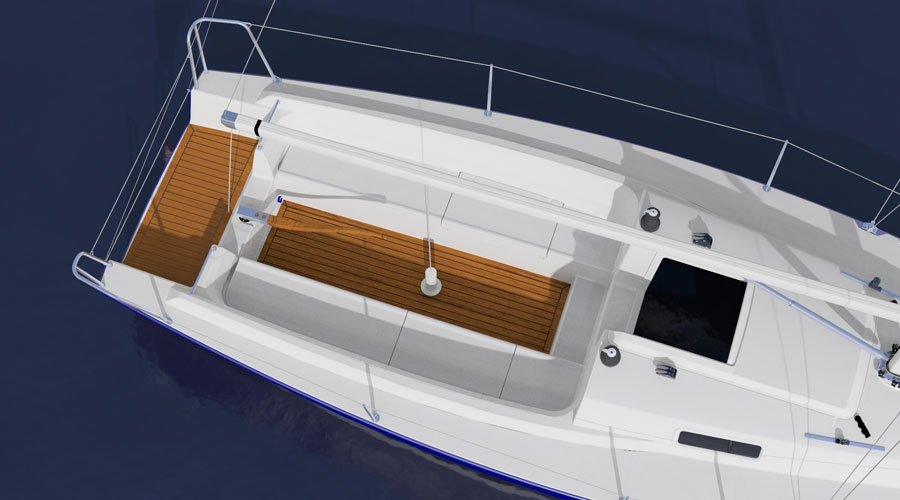 New J/9 daysailer sailboat