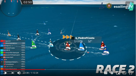 J/70 eSailing virtual regatta