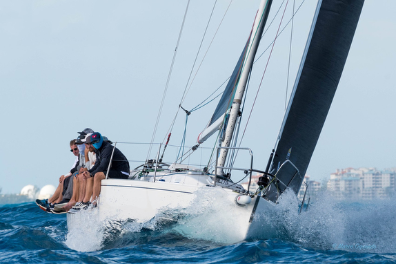 J/120 sailing SORC Eleuthera Race to Bahamas Islands