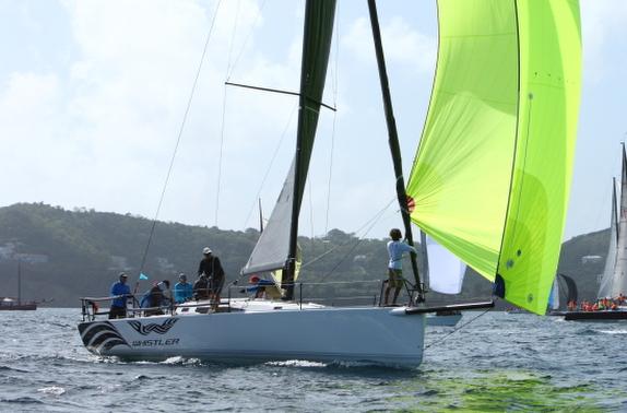 J/121 sailing Grenada