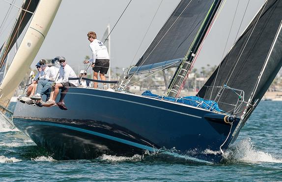 J/145 sailing Puerto Vallarta Race offshore of Mexico