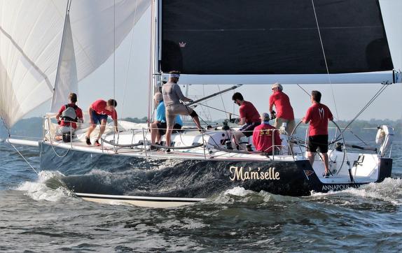 J/122 sailing offshore- Annapolis, MD- Chesapeake Bay