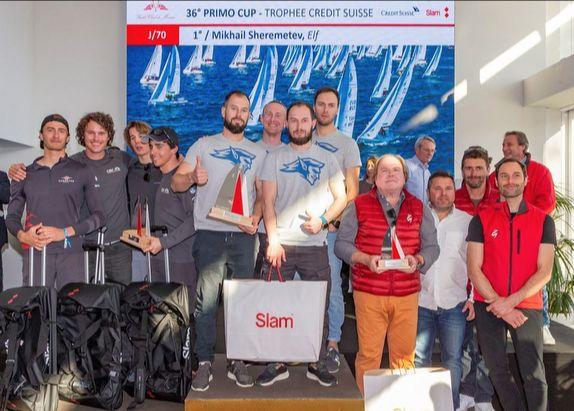 J/70 Monaco Primo Cup winners
