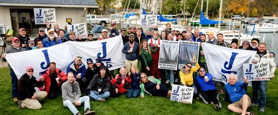 J/35 sailors in Michigan