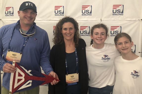 Brett & Katie Langolf family #morekidsonsailboats