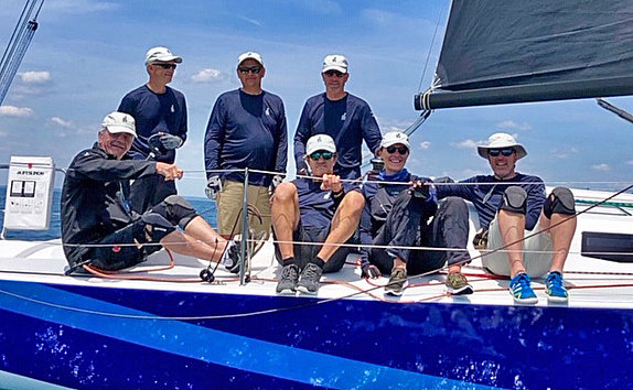 J/99 sailing with Rod Johnstone family