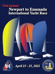 Newport to Ensenada Race poster