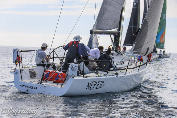 J/Crews Sweep Class in The Islands Race