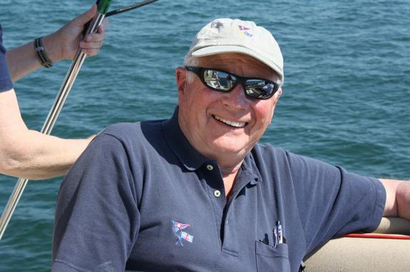 Robin Wallace sailing