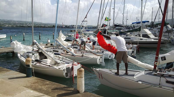 J/22s at Montego Bay Yacht Club