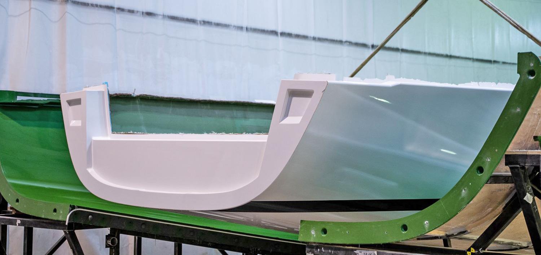 J/45 offshore cruising yacht transom