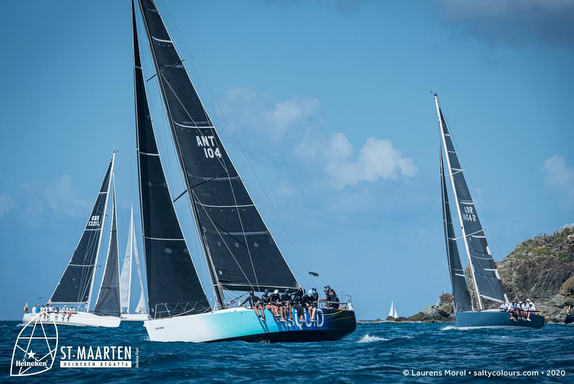 J/122 Liquid sailing St Maarten Regatta