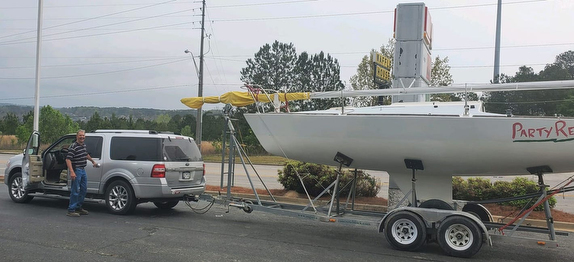 J/24 sailor's towing rig