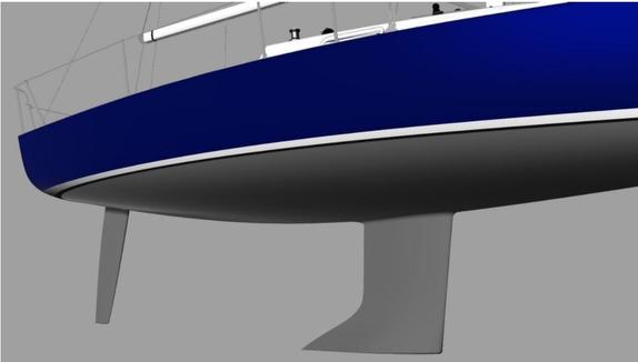 J/9 keel profile