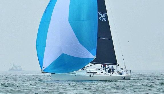 J/99 sailing off Peru