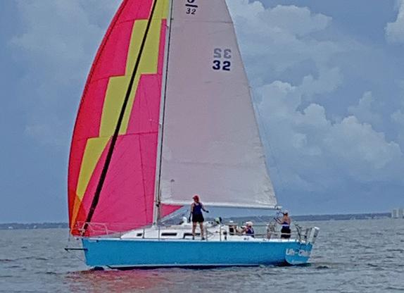 J/32 cruising sailboat
