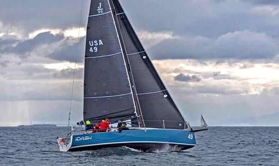 J/99 sailing on Puget Sound, Seattle, WA