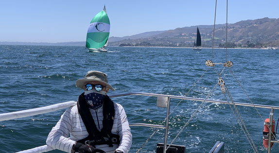 J/92 and J/105 sailing Doublehanded PSSA race