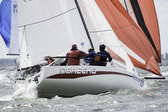 J/70 sailing Annapolis NOOD Regatta