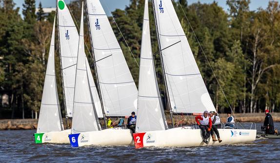 Esbo Segelförening Wins Finnish J/70 Sailing League 2020