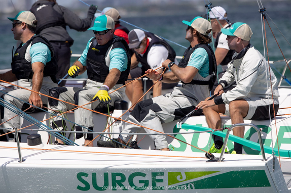 J/70 Surge 2nd at Bacardi Cup