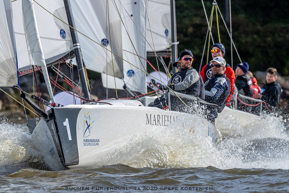 Finnish J/70 Sailing League Report