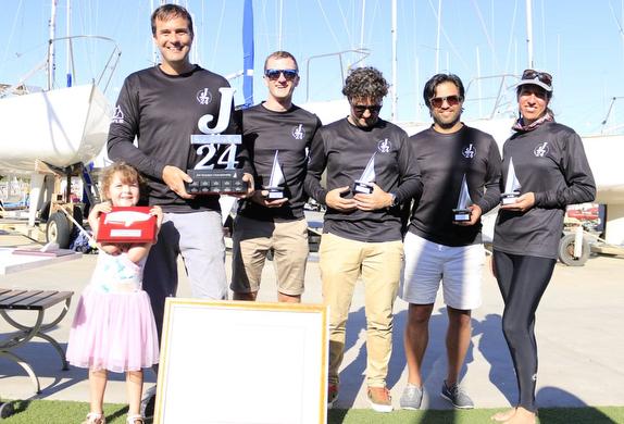 J/24 Victoria States winners