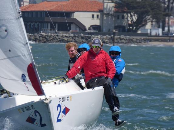 J/22s sailing San Francisco Bay
