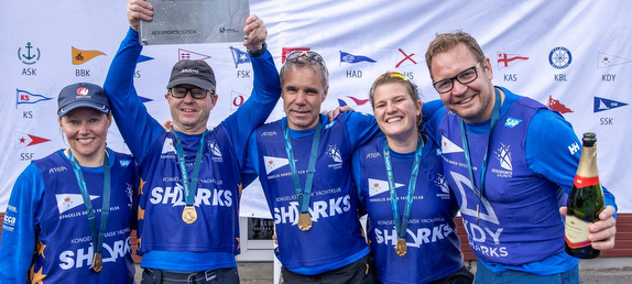 KDY Sharks Repeat as Danish Sailing League Champions!